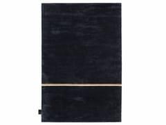 Tappeto a tinta unita rettangolare in viscosa e lana TOKYO TAXI | Tappeto -