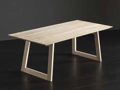 Tavolo da pranzo rettangolare in legno TOLEDO + FLAT - ECOLAB 2