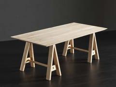 Tavolo da pranzo rettangolare in legno TOLEDO + HORSE - ECOLAB 2