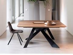Tavolo da pranzo quadrato in rovere TOLEDO | Tavolo in rovere - ECOLAB 2