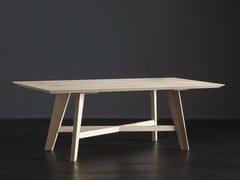 Tavolo da pranzo rettangolare in legno TOLEDO + PECHINO - ECOLAB 2