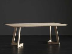 Tavolo da pranzo rettangolare in legno TOLEDO + SEVEN - ECOLAB 2