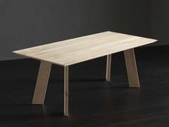 Tavolo da pranzo rettangolare in legno TOLEDO + STREET - ECOLAB 2