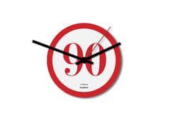 Orologio in lamiera stampata da pareteTOMBOLA - DESIGNOBJECT.IT
