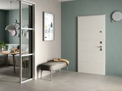 Porta d'ingresso blindata con cerniere a scomparsa TOP 2040 TWIN - VIGHI SECURITY DOORS
