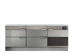 Tavolo di preparazione refrigerati in acciaio inoxTOP CHEF DRAWERS 2 - HIZONE BY ISA