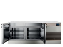 Tavolo di preparazione refrigerati in acciaio inoxTOP CHEF 2 - HIZONE BY ISA