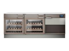 Cantinetta frigo con anta in vetroTOP WINE 2T - HIZONE BY ISA