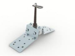 Carpenteria di fissaggio regolabile per ancoraggio puntualeTOR SAFE 360 RM - BIN SISTEMI