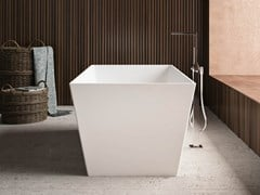 Vasca da bagno centro stanza rettangolare in KstoneTORINO - KAROL ITALIA