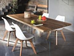 Tavolo da pranzo rettangolare in noce TORONTO + ICE - ECOLAB 2
