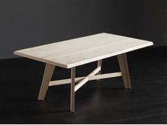 Tavolo rettangolare in rovere TORONTO + PECHINO - ECOLAB 2