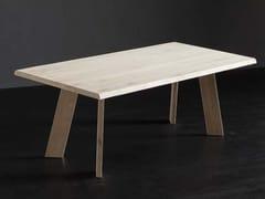 Tavolo da pranzo rettangolare in legno TORONTO + STREET - ECOLAB