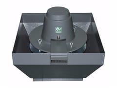 Aspiratore centrifugo da tetto per estrazione fumi caldiTORRETTA TRT 100 ED-V 6P - VORTICE ELETTROSOCIALI