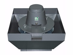 Aspiratore centrifugo da tetto per estrazione fumi caldiTORRETTA TRT 100 ED-V 8P - VORTICE ELETTROSOCIALI