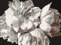 Tappeto a fiori rettangolare in lanaTOSCA - BLOSS