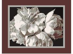 Tappeto a fiori rettangolare in lanaTOSCA FRAME - BLOSS