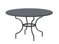 Tavolo da giardino rotondo in metalloTOSCA | Tavolo rotondo - VERMOBIL