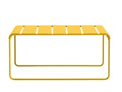 Panca da giardino in alluminioTOSCANA | Panca da giardino - ISIMAR