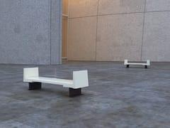 Panchina con braccioli senza schienaleTOSTA - ULMA ARCHITECTURAL SOLUTIONS