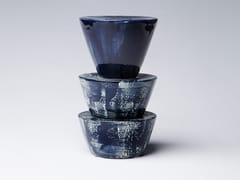 Soprammobile / scultura in gres porcellanato smaltato TOTEM 12 - Totem