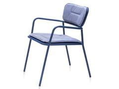 Sedia da giardino impilabile in metallo con cuscino integratoTOTEM | Sedia con cuscino integrato - ANIMO D.O.O.