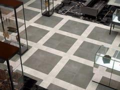 Pavimento in gres porcellanato effetto cemento TRACE | Pavimento -