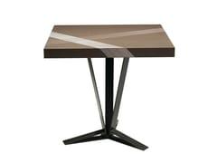 Tavolino alto quadrato in rovereTRACK | Tavolino alto - ROCHE BOBOIS