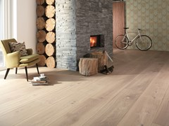 Parquet in rovere CHALET TRADITIONAL SBIANCATO - BOEN PARQUET ITALIA