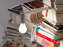 Lampada da lettura a LED a luce diretta in metalloTRA ILIBRI   Lampada da lettura a LED - VESOI