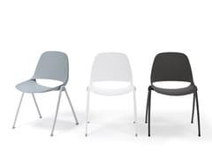 Sedia impilabileECLIPSE | Sedia impilabile - DIEMMEBI