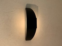 Applique per esterno ad energia solare in acciaio con vernice epossidicaTRAIT DE LUNE | Applique per esterno ad energia solare - ARALIA - LYX-LUMINAIRES