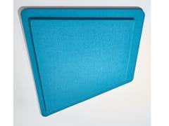 Pannello decorativo acustico in tessuto PIXEL TRAPÈZE - Pixel