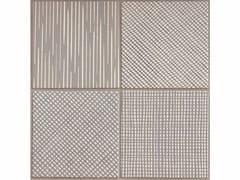 Pavimento/rivestimento in gres porcellanato TRATTI MIX GRIGIO - TRATTI
