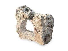 Scultura in pietra calcareaTRAVERTINO FORATO - GRANULATI ZANDOBBIO