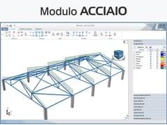 LOGICAL SOFT, TRAVILOG - MODULO ACCIAIO Modellazione e calcolo di strutture in acciaio