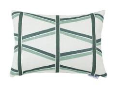 Cuscino in viscosa a motivi geometriciTRELLIS - GANCEDO