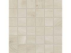 Mosaico in gres porcellanatoTREVERKHOME | Mosaico Acero - MARAZZI GROUP