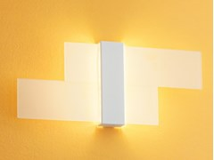 Applique a LED in vetroTRIAD 2.0_W - LINEA LIGHT GROUP