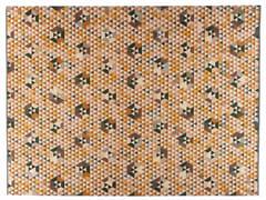 Tappeto rettangolare a motivi geometrici TRIANGLEHEX GOLD - Triangles