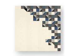 Quadro in legno intarsiato TRIANGLES COLD - DOLCEVITA BRIO