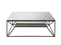 Tavolino quadrato in metalloTRIBECA | Tavolino - ROCHE BOBOIS