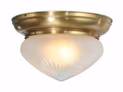Lampada da soffitto in ottoneTRIBU 25/2 - PATINAS LIGHTING