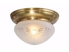 Lampada da soffitto in ottoneTRIBU 25/4 - PATINAS LIGHTING