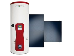 Impianto solare termico a circolazione forzataTRIENERGIA ACS - PI20 200-500 lt - COENERGIA