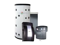 Impianto solare termico a circolazione forzataTRIENERGIA RIACS ACS - PDC - SV10T - COENERGIA