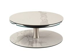 Tavolino basso rotondo in ceramicaTRILOGY | Tavolino basso - ROCHE BOBOIS