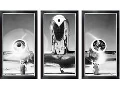 Stampa fotograficaTRIPTYCH AIRPLANE - MONDIART INTERNATIONAL
