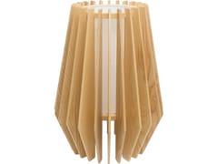 Lampada da tavolo in legnoTROPE - FLAM & LUCE LUMINAIRES