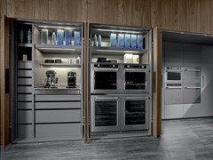 Sistema colonne per cucinaTU23 ARCHITECTURAL - ROSSANA